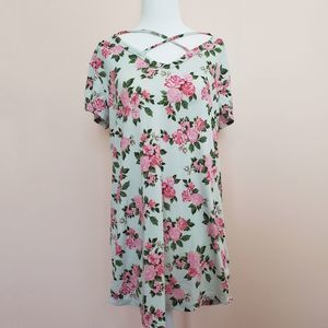 Joe Boxer Floral Top Size Large